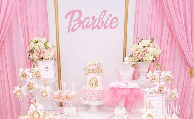 Pink Barbie Glam Birthday Party