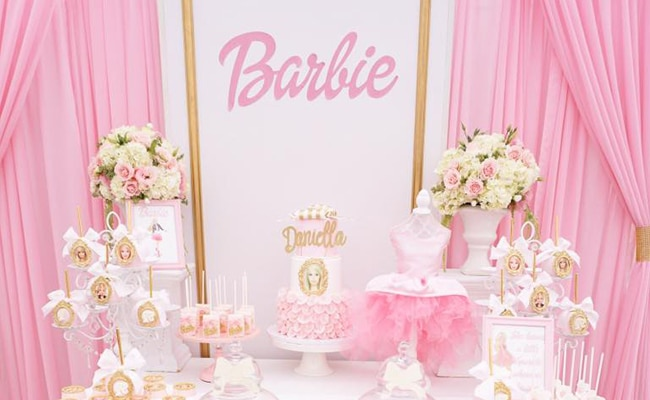 Pink Barbie Glam Birthday Party Pretty My Party