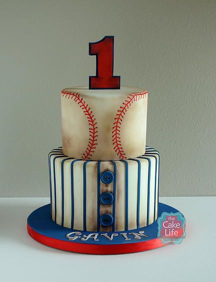 Baseball Birthday Cake | Baseball Party Ideas