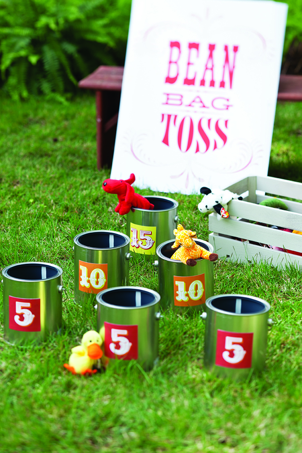 Bean Bag Toss | Carnival Party Ideas
