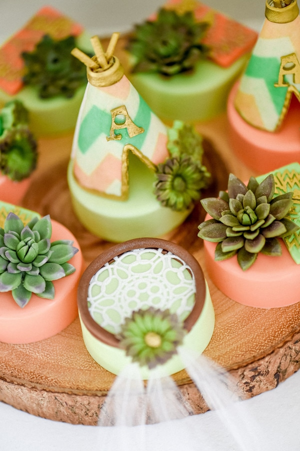 Boho Party Desserts - Boho Chic Party Ideas