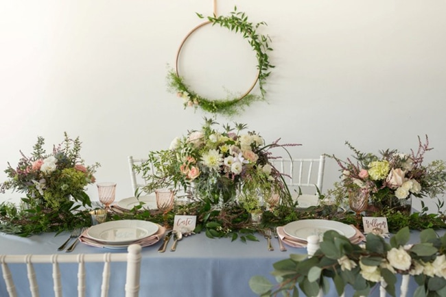Southern Garden Inspired Bridal Luncheon featured on Pretty My Party