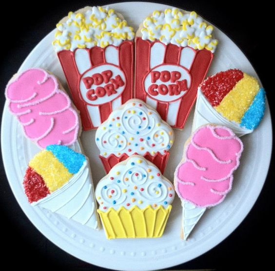 Carnival Cookies | Carnival Theme Party