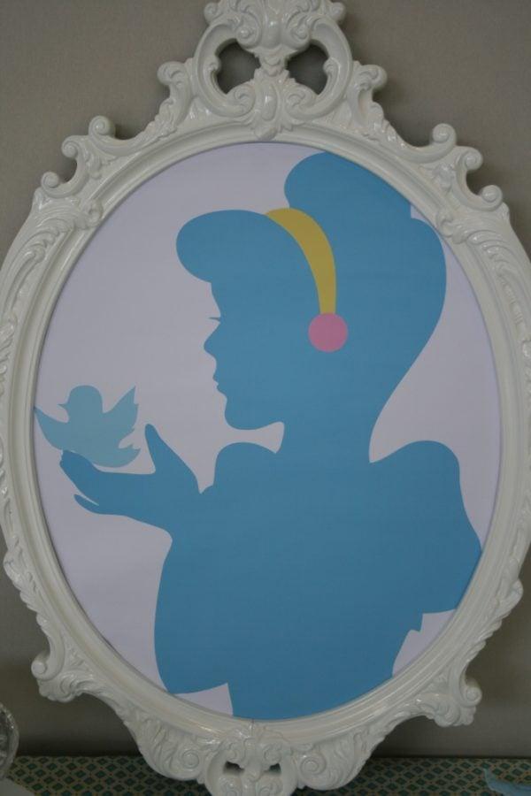 Cinderella Frame | Cinderella Party Ideas