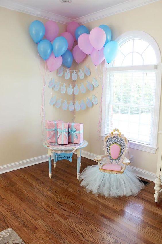 Cinderella's Royal Corner | Cinderella Party Ideas