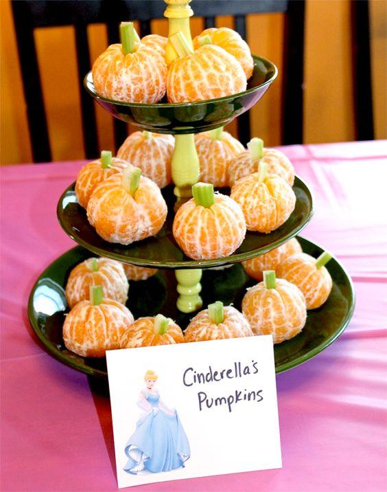 Cinderella's Pumpkins | Cinderella Party Ideas