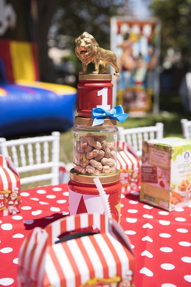Whimsical Circus First Birthday Party Pretty My Party