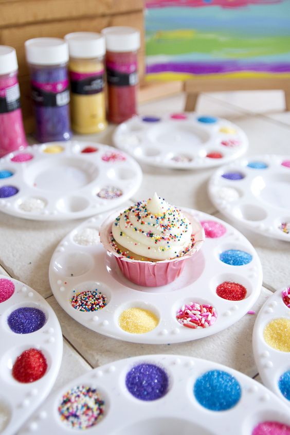 23 Creative Art Themed Party Ideas - Pretty My Party