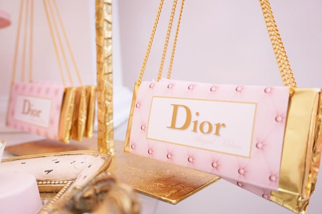 Diamond and Dior Themed Birthday Party