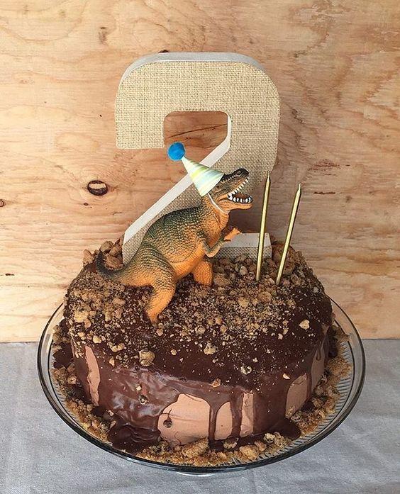 Dinosaur Cake | Dinosaur Birthday Party Ideas