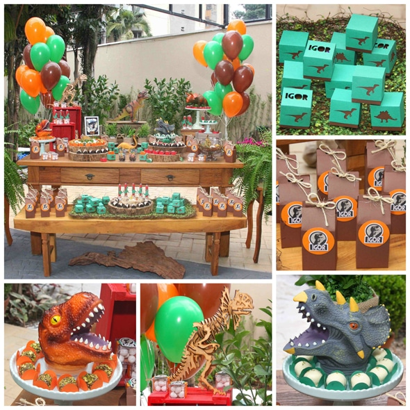 23 roarsome dinosaur birthday party ideas pretty my party for Amusement park decoration games