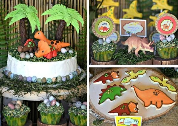 Dinosaur Party Desserts | Dinosaur Birthday Party Ideas