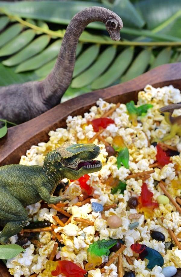 Dinosaur Party Snack Mix | Dinosaur Birthday Party Ideas