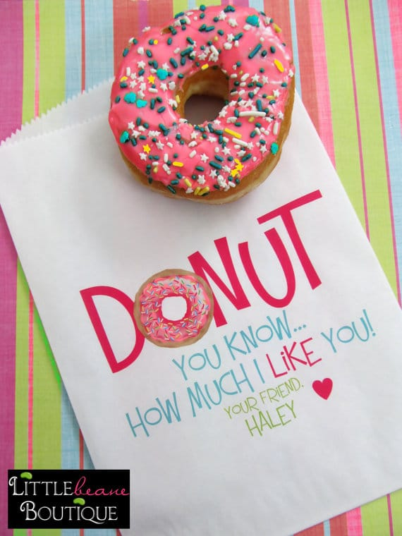 Donut Party Favor Bags | Donut Themed Party Ideas