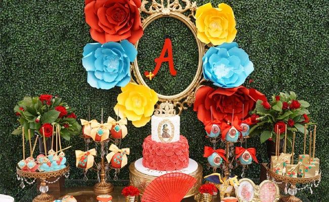 Elena of Avalor Themed Birthday Party