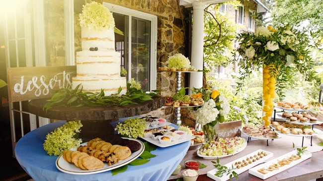 English Garden Themed Baby Shower featured on Pretty My Party