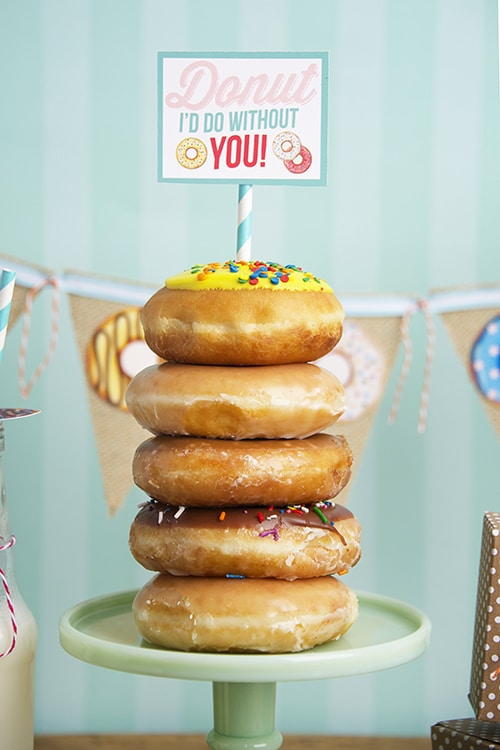 FREE Donut Party Printables | Donut Themed Party Ideas