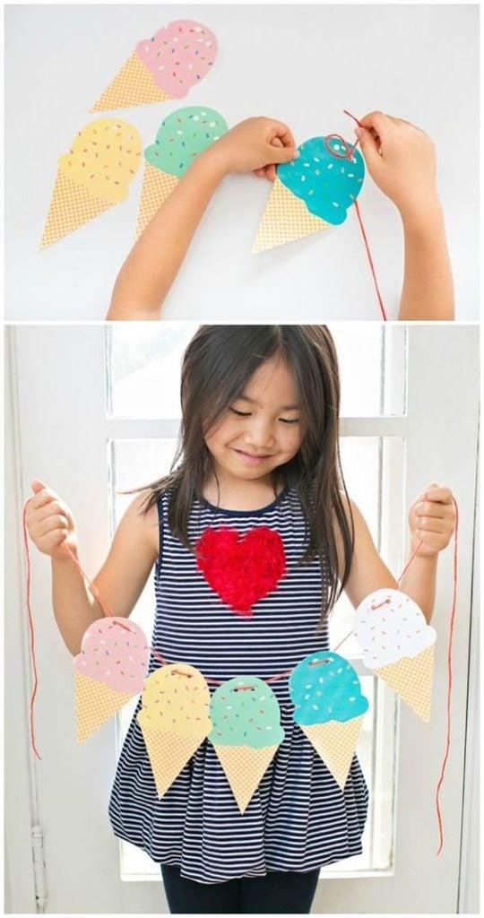 Free Printable Ice Cream Garland | Ice Cream Party Ideas