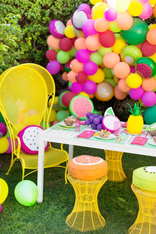 23 Tutti Frutti Themed Birthday Party Ideas Pretty My Party