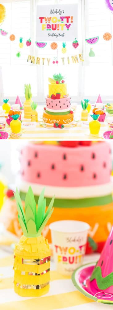 Tutti Frutti Birthday Party | Tutti Frutti Party Ideas