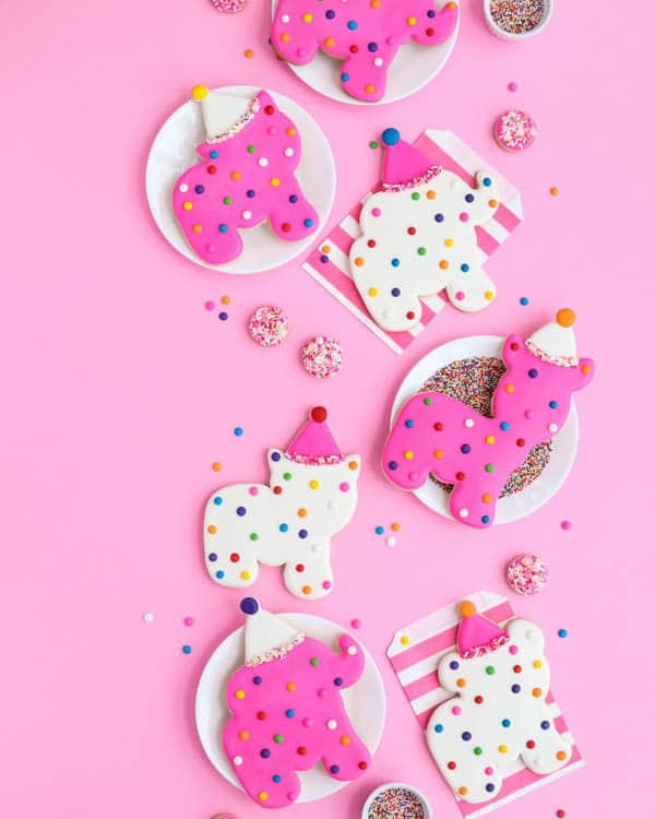 Giant Circus Animal Cookies | Circus Animal Cookie Party Ideas
