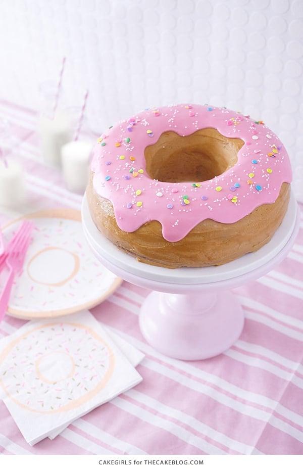 Giant Donut Cake | Donut Party