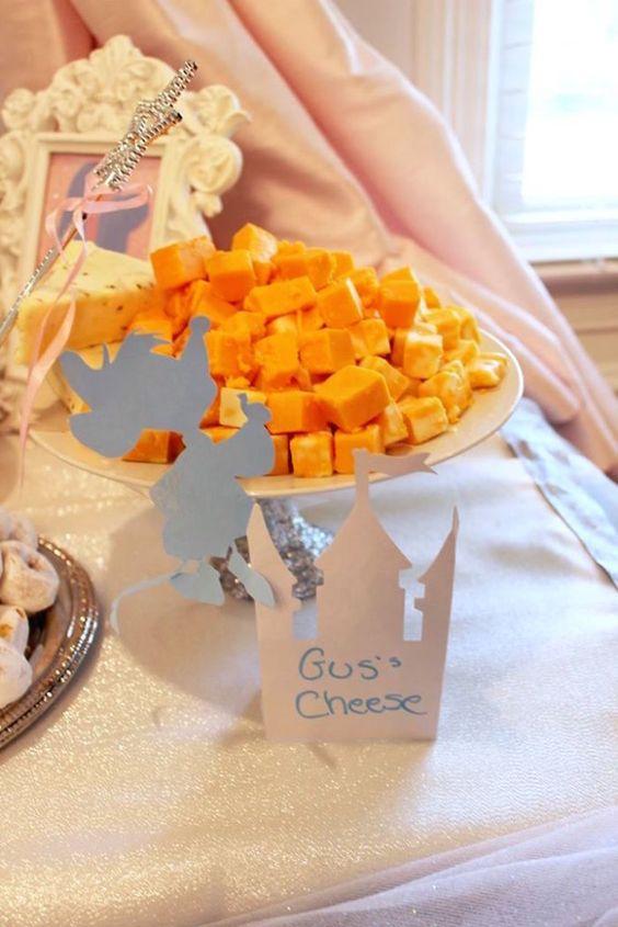 Gus Cheese | Cinderella Party Ideas