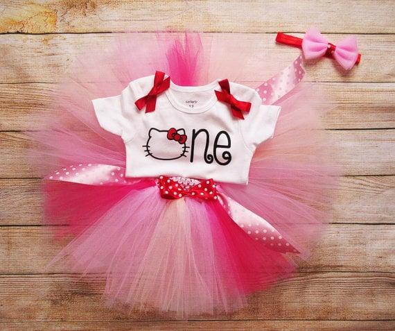 Hello Kitty Tutu Outfit | Hello Kitty Party Ideas