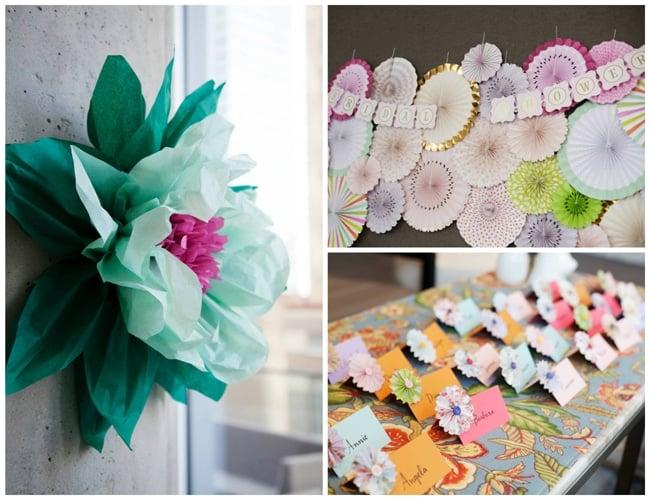 Floral High Tea Bridal Shower Decorations