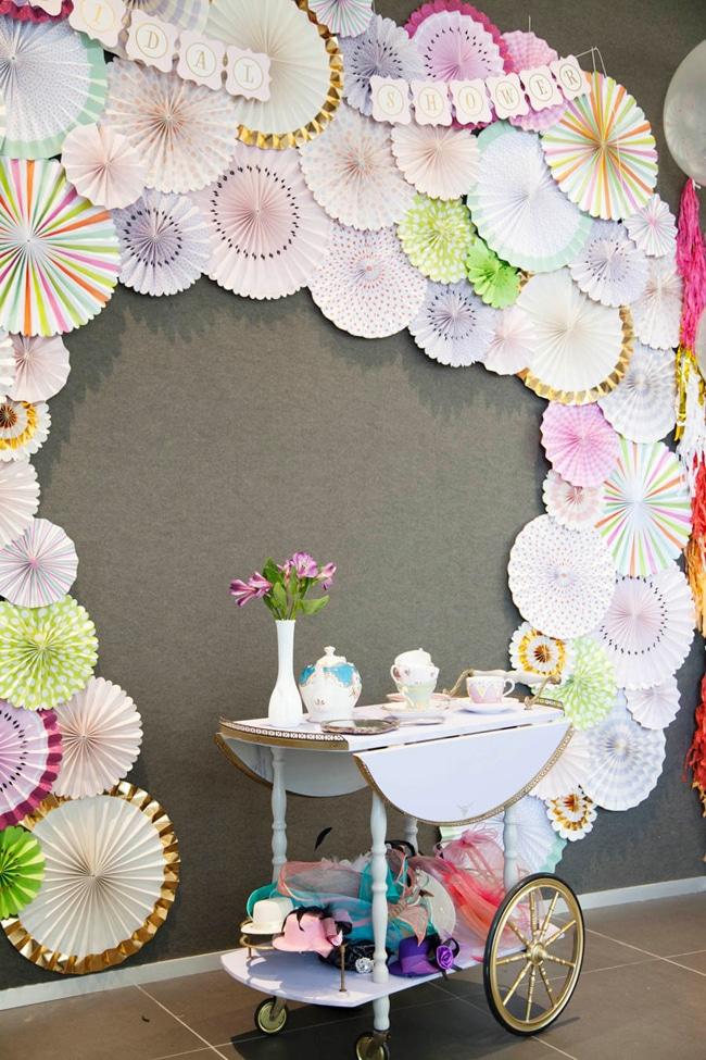 Floral High Tea Bridal Shower