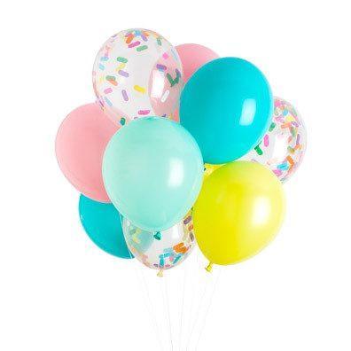 Ice Cream Party Balloons | Ice Cream Party Ideas