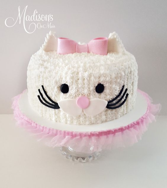 Birthday Cake For Cats With Frosting