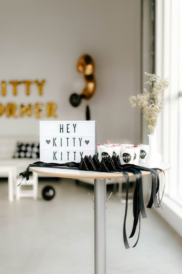 Kitty Cat Party Sign | Cat Party Ideas