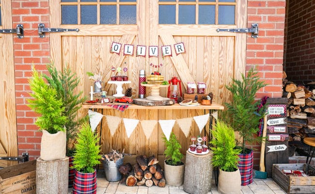 Creative Lumberjack Birthday Party