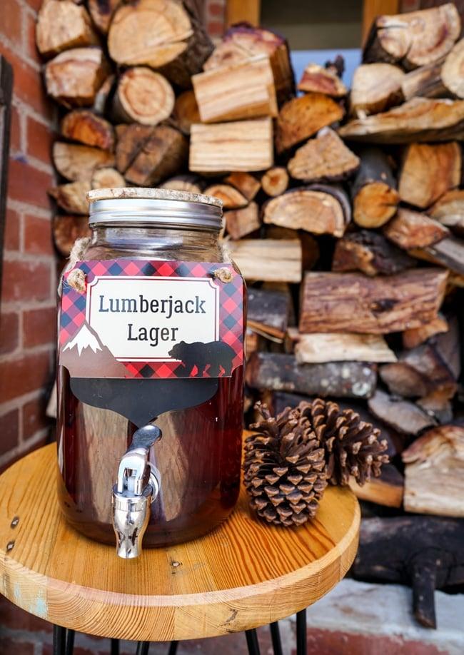 Lumberjack Party Lager