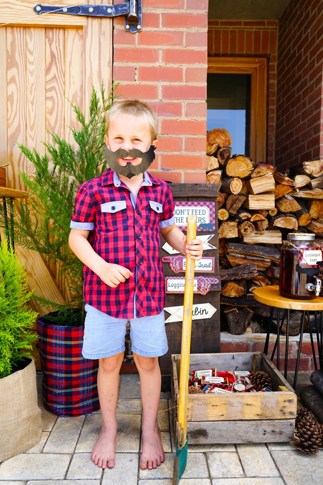 Little Lumberjack Party