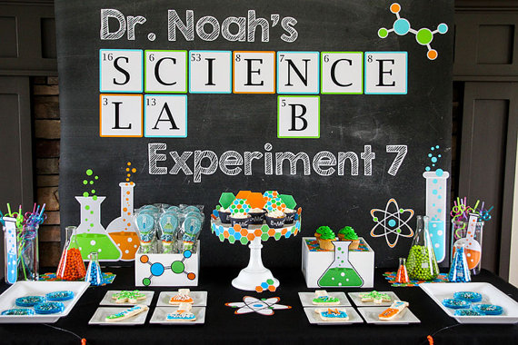 Mad Scientist Party Printables | Mad Scientist Party Ideas
