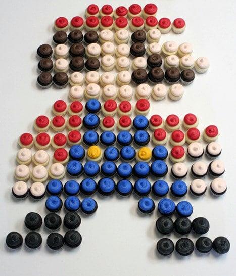 Mario Cupcakes | Super Mario Party Ideas