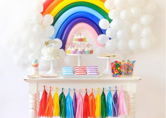 26 Colorful Rainbow Party Ideas
