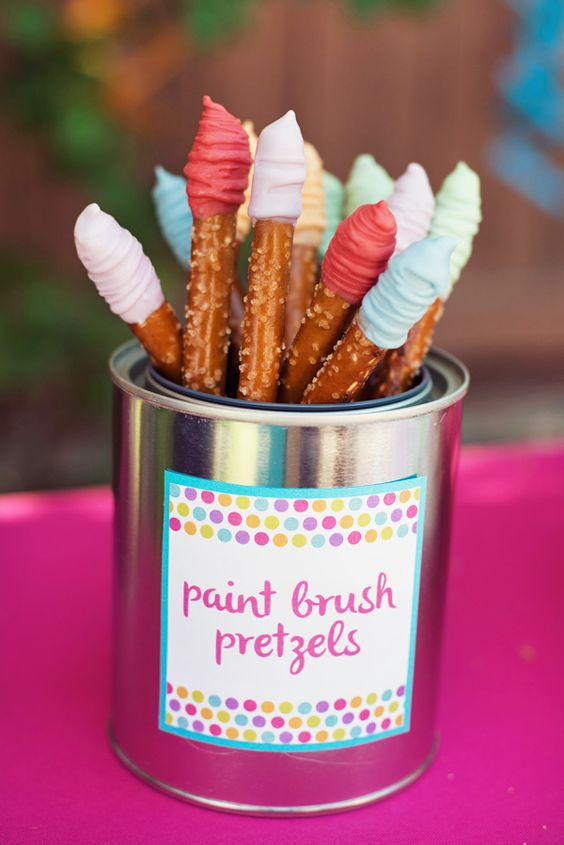 23 Creative Art Themed Party Ideas Pretty My Party