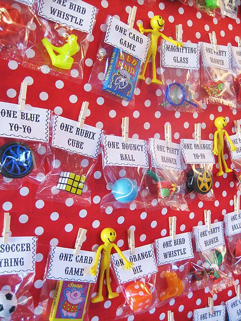Carnival Party Prize Board - Carnival Themed Party Idea