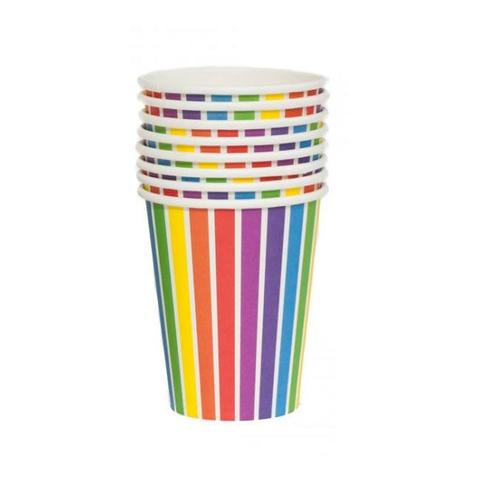 Rainbow Party Cups | Rainbow Party Ideas