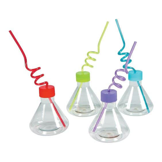 Science Party Cups | Mad Scientist Party Ideas