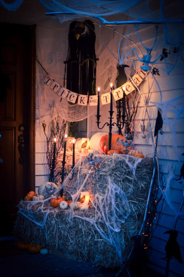 11 Halloween Front Porch Decorating Ideas Pretty My Party