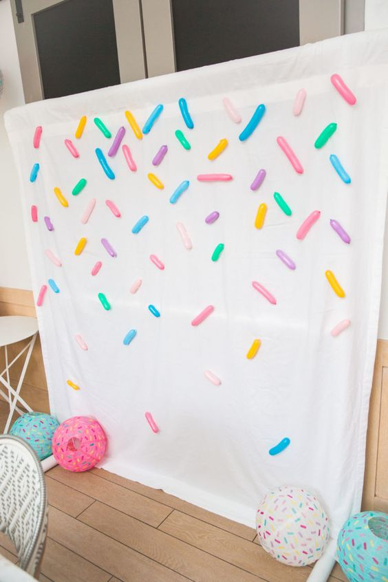 Sprinkles Photo Booth Idea | Donut Party