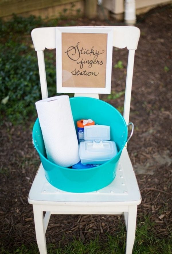 Sticky Fingers Station | Genius Party Hacks
