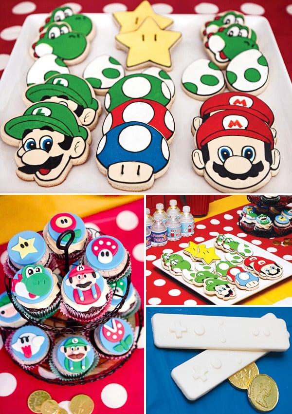 Super Mario Party Desserts | Super Mario Party Ideas