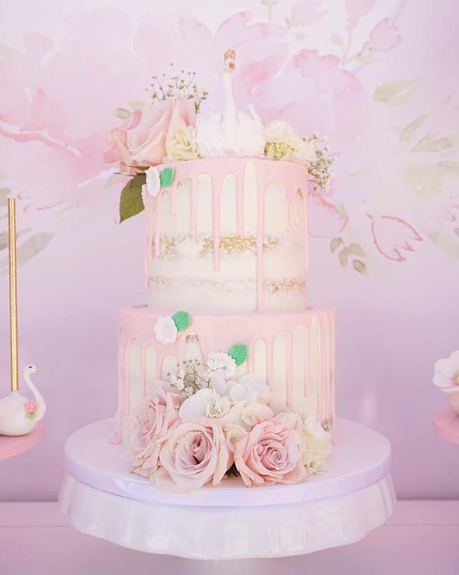 Pretty Swan Themed Birthday Party Pretty My Party