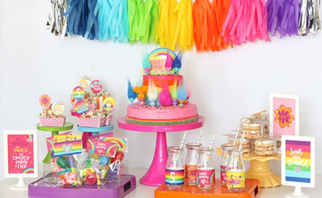 Magical Trolls Birthday Party