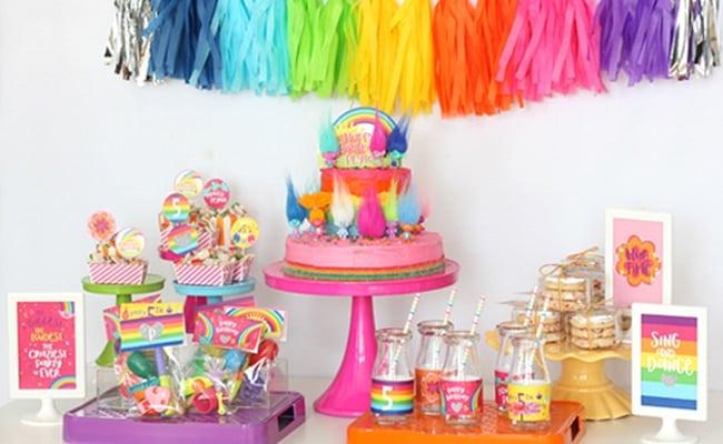 Magical Trolls Birthday Party